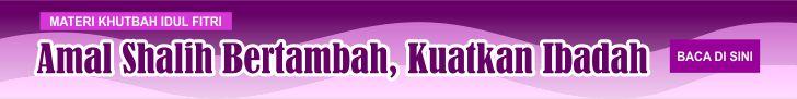 iklan materi khutbah idul fitri 1440 H